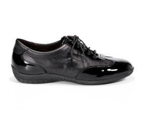 Brunate - SportTie Patent/Leather - Black