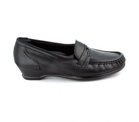 SAS Shoemakers - Easier Black Leather
