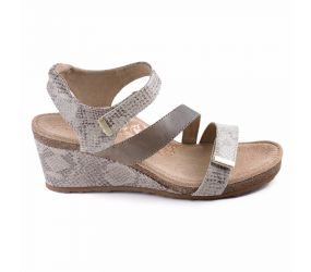 Aetrex - Brynn Stone Snake Sandal