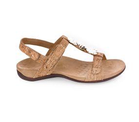 Vionic - Rest Farra Gold Cork Sandal
