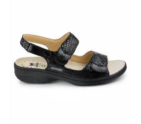 Mephisto - Getha Black Sandal