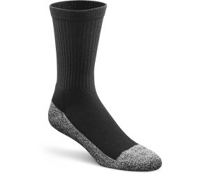 Roomy Socks - Crew Diabetic Sock - Black