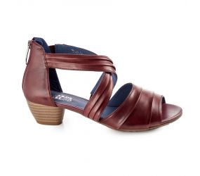 regarde le ciel - Jenifer 80 Glove Sangria Sandal