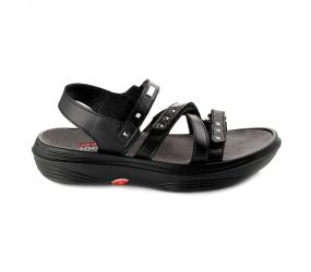 KyBoot - Genf 17 Black Sandal