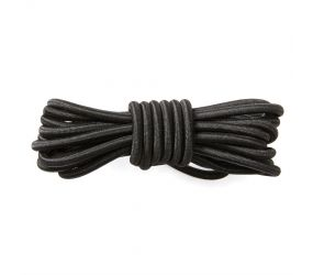 Frankford Leather - Elastic Laces Black 30""