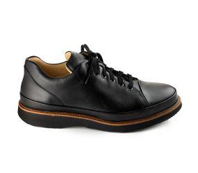 Samuel Hubbard - Dress Fast Black Leather