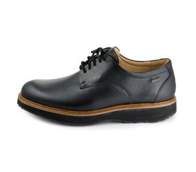 Samuel Hubbard - Hubbard GTW Rainy Day Founder Plain Toe Black