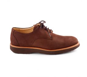 Samuel Hubbard - Bucks Plain Toe Brown Nubuck