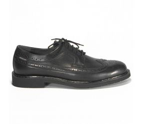 Mephisto - Matthew Black Smooth Wing Tip