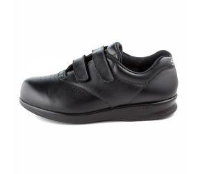 SAS Shoemakers - Me Too Black Leather