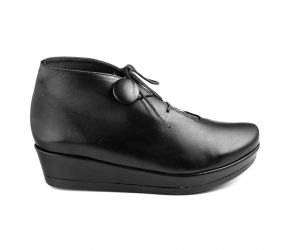 Yves Defarge - Micam Black Leather Chukka