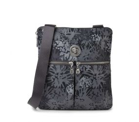 Baggallini - Madras RFID Crossbody Bag Pewter