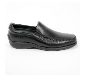 Neil M. Rome Leather Black