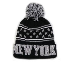 NY Knit Pom Pom Hat