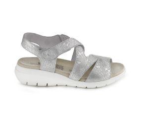Mephisto - Pattie White/Silver Sandal