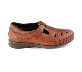 SAS Shoemakers - Roamer Chestnut Leather