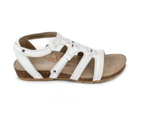 Aetrex - Natasha Gladiator Antique White