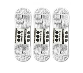 "Shoe Laces 40"" 45"" 54"" White - 3 pack"