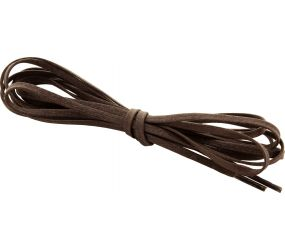 """Waxed Brown Laces 30"""" 2 pack"""