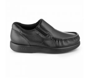 SAS Shoemakers - Side Gore Black Leather