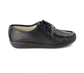 SAS Shoemakers - Siesta Black Leather