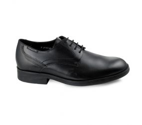 Mephisto - Smith Black Plain Toe Oxford