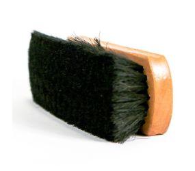 Frankford Leather - Medium Shine Brush Black