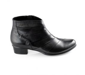 Regarde Le Ciel - Stefany 293 Black Pleated Boot