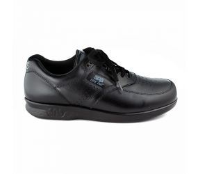 SAS Shoemakers - Time Out Black Leather