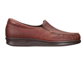 SAS Shoemakers - Twin Mulch Leather Slip On
