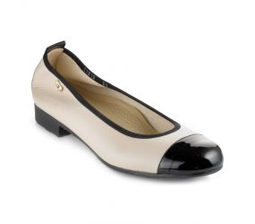 Valleverde - Low Heel Cap Toe Perla