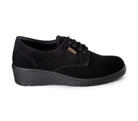 Valleverde - Black Waterproof Lace Up