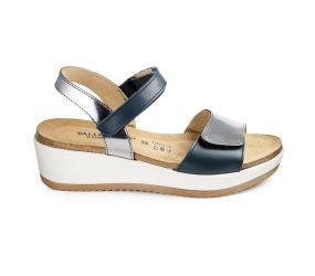 Goldstar - Blue Wedge Sandal