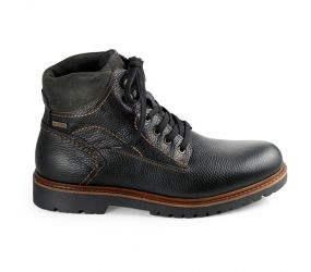 Valleverde - Black Leather Waterproof Boot
