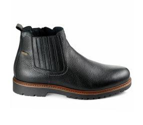 Valleverde - Black Leather Waterproof Chelsea