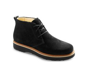 Samuel Hubbard - Women's Boot-Up Chukka Black Suede