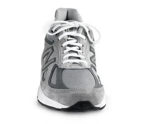 New Balance Women's 990V4 Grey Running