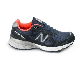 New Balance Women's 990V4 Navy Running