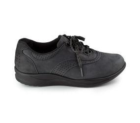 SAS Shoemakers - Walk Easy Nero Nubuck