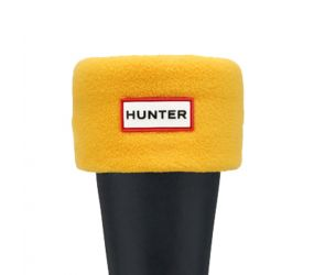 Hunter Welly Sock Short - Yellow