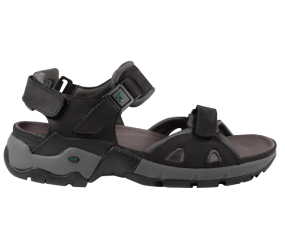 Mephisto Alligator Black/Grey Sandal