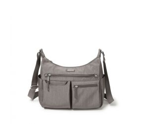 Baggallini - Anywhere Large Hobo RFID Sterling Shimmer