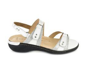 Ziera - Banner White/Stingray Sandal