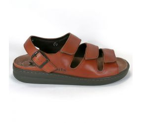 Mephisto - Jack Chestnut Smooth Sandal