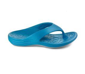 Aetrex - Lynco Flip Sandal Blue