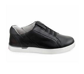 Kizik - New York Black Leather Slip On