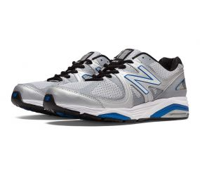 New Balance - Men's Motion Control Silver/Blue