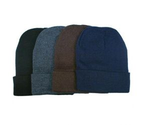 Men's Warm Striped Beanie