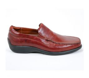 Neil M. Rome Leather Walnut