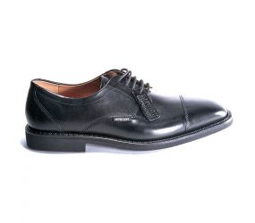 Mephisto Poley Cap Toe Black Supreme